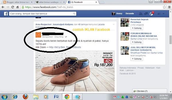 Cara Pasang Iklan di Facebook